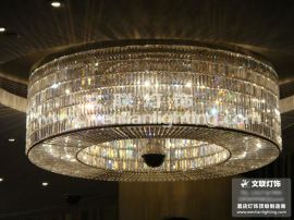 **豪华星级酒店大堂水晶吸顶灯(00562)