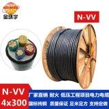 深圳电缆厂供应金环宇耐火电缆N-VV 4*300厂家直销价钱实惠