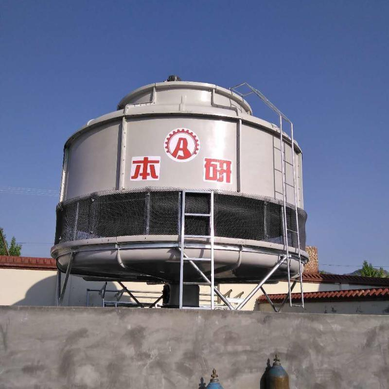 淮安冷却塔厂家直供 175T圆形逆流玻璃钢冷却塔 物美价廉优质服务