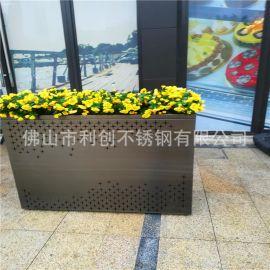 供应304创意花盆不锈钢园林绿化花盆批发定制厂家