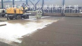 金剛砂撒料機,路得威RWSL11渦輪增壓柴油發動機高精度加工布料輥撒料均勻撒料機,金鋼砂撒料機,金剛砂,金鋼砂,