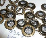 透氣網面氣眼 全銅透氣網形氣眼扣 銅網面氣眼