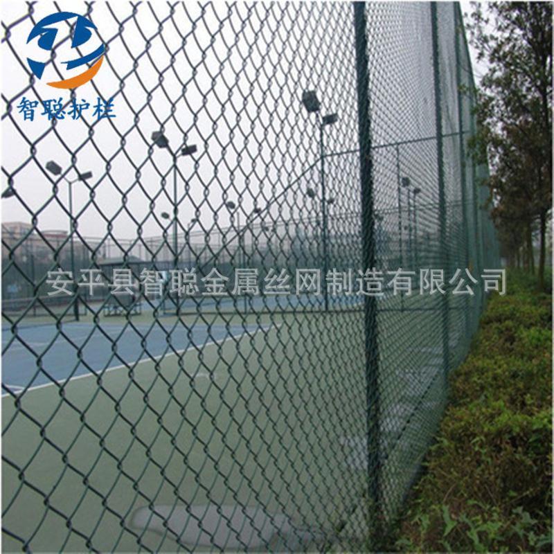 绿色球场防护网高尔夫球场安全围网球场防锈方孔围栏网