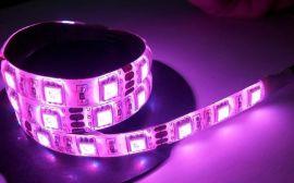 LED七彩灯带,/5050RGB全彩三色渐变/闪变