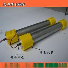 皮带输送线不锈钢304镀锌包胶链轮等电动滚筒