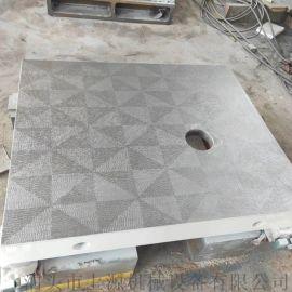 铸铁装配平板钳工划线平板人工铲刮研磨平台精度高