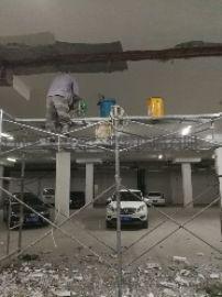 洪泽县顶板裂缝漏水补漏方法,地下室顶板堵漏