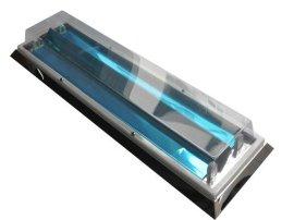 药厂用LED不锈钢斜边吸顶净化灯