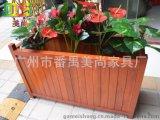 商业广场步行街绿化道花箱