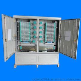 高品质SMC光交箱 落地式576芯单面双开门光缆交接箱 高性能光纤配线箱
