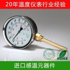 双金属温度计锅炉用 双金属温度计水温度表 上海双金属温度计经济型