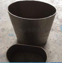 304不锈钢平椭圆管, 梅州不锈钢彩色管, 不锈钢黑钛管