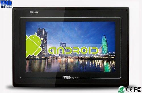 安卓系統嵌入式工業觸摸屏10寸_工業平板電腦