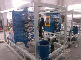 福田机械塑料管材行星切割机
