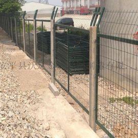 铁路护栏网厂家2012-8001金属网片防护栅栏