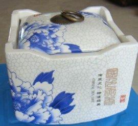 定做陶瓷包装罐 包装茶叶的陶瓷罐子 瓷器罐子生产厂家