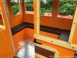 旅游观光车 电动电瓶观光车看房车无轨小火车 大型游乐场游乐设备