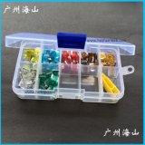汽车保险丝套餐 日式MINI插片式保险片盒装组合 70只配黄夹1只