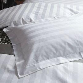 【中悦】酒店宾馆床上用品四件套枕头套 纯棉40支枕头套 加工定制