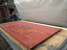 大铁门木纹转印 金属门板木纹转印机可定做