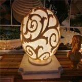 砂巖燈飾 透明燈罩 植物發光透雕 人造砂巖燈罩雕塑定制