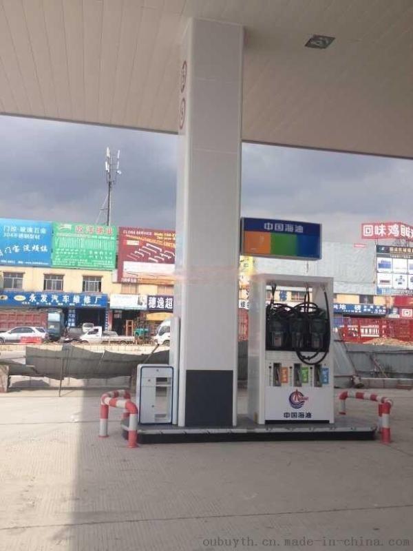 青海加油站包柱铝型材-中石化加油站白色包圆角铝材