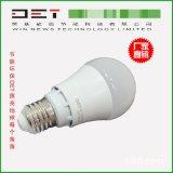 广州荣基 LED灯泡E27螺口5W暖白7W照明节能灯E27超亮螺口球泡灯