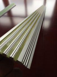 楼梯发光防滑条 发光指示条 夜光铝板防滑条 楼梯疏散指示条 铝合金夜光消防指示条