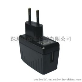 5V1.5A USB歐規CE認證開關電源適配器