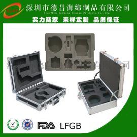 深圳光明廠家供植絨EVA內襯,內襯盒,EVA酒盒,定位泡棉,EVA包裝