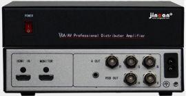 HDMI转RGB加音频转换器