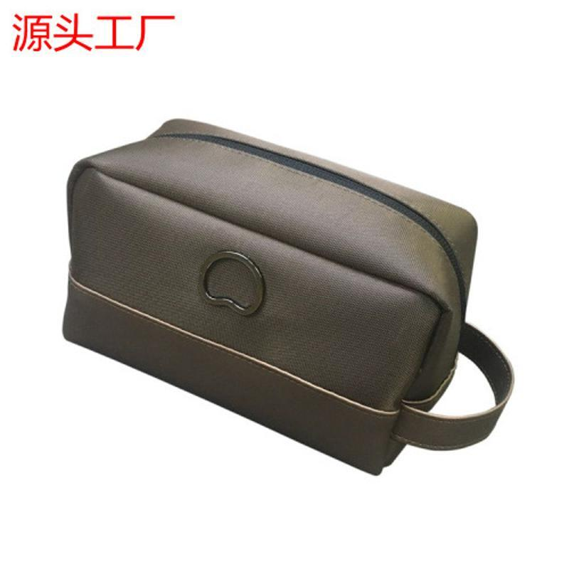 工廠定製便攜簡約大容量旅行洗漱包 枕頭媽咪包防水手提收納包