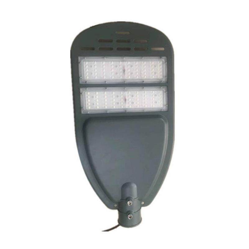led新款100w摸组路灯头 户外压铸贴片摸组路灯外壳太阳能路灯外壳