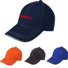純色夏季新款男女士帽子棒球帽廣告帽鴨舌帽可定制刺繡企業LOGO