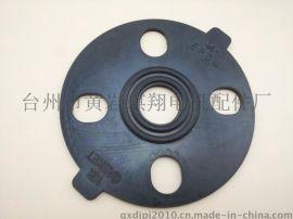 台州黄岩CX创新塑胶EPDM三元乙丙橡胶国标DN15法兰垫片