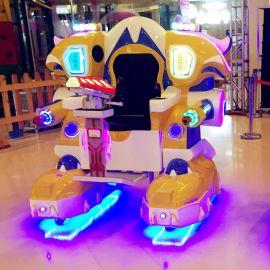 巨鲸威猛侠广场行走广场对战激光对战广场机器人战火金刚