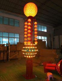 特色景观灯园林广场红灯笼中式庭院灯广场非标工程灯柱定制厂家创意道路灯定制