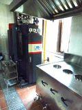 兰州九记餐饮蒸包子用250kg燃气蒸汽锅炉,   燃气蒸汽发生器