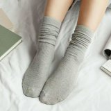 韩式堆堆袜秋冬女