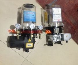 JS系列强力搅拌机自动润滑油泵 机动浓油泵 电动油脂泵厂家