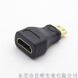 HDMI A母转MINIHDMI公转接头