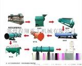 草炭土甘蔗渣加工有机肥成套设备工艺流程