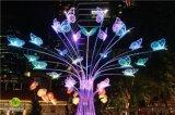 不锈钢防水雕塑灯 恒逸雕塑灯 景观小品雕塑灯