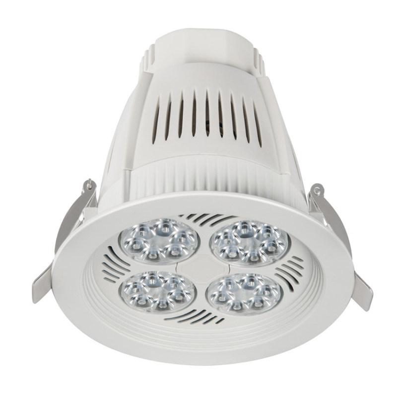 嵌入式洗牆LED天花燈 酒店超市COB天花燈