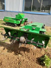 果园开沟施肥机,履带式开沟施肥回填一体机