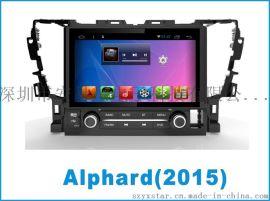 丰田阿尔法9寸触摸屏车载DVD和车载导航