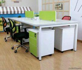 杞县办公室员工屏风办公桌定制规格