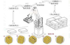 手臂自动码垛机器人,安全高效稳定易操作的工业机器人