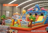 贵州儿童充气城堡滑梯厂家严格定做好用安全