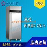 FIRSCOOL厂家直销 厨房立式不锈钢两门冷冻柜